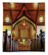 Woodstown Church Fleece Blanket