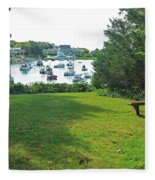 Wychmere Harbor Cape Cod Morning Fleece Blanket