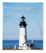Yaquina Head Lighthouse 101618 Fleece Blanket