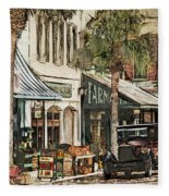 Ybor City Movie Set Fleece Blanket