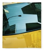 Yellow Cab, Big Apple Fleece Blanket