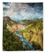 Yellowstone National Park - 05 Fleece Blanket
