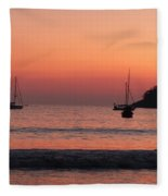 Z For Zihuatanejo Fleece Blanket