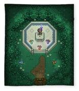 Zelda Mastersword Fleece Blanket