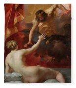 Zeus And Semele Fleece Blanket