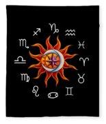 Zodiac Transparent Fleece Blanket