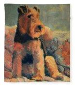 Zuzu Fleece Blanket