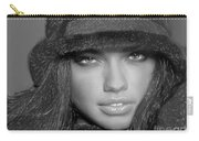 # 5 Adriana Lima Portrait Carry-all Pouch