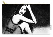 # 5 Penelope Cruz Portrait. Carry-all Pouch