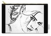 # 9 Adriana Lima Portrait. Carry-all Pouch