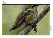 A Little Tired Hummingbird Carry-all Pouch