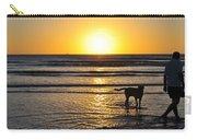 A Mans Best Friend Sunset Carry-all Pouch