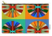 Abstract Circles And Squares 2 Carry-all Pouch by Amy Vangsgard