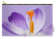 Abstract Purple Crocus Carry-all Pouch
