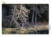 Alder Tree Reflection In Pond Carry-all Pouch