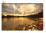 Androscoggin River Between Lewiston And Auburn Carry-all Pouch