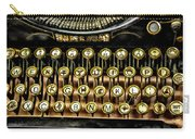 Antique Keyboard Carry-all Pouch