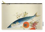 Autumn Fattens Fish And Ripens Wild Fruits Carry-all Pouch