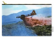 B-17 Air Tanker Dropping Fire Retardant Carry-all Pouch