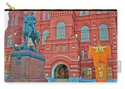 Back Of Russian Historical Museum In Moscow-russia Carry-all Pouch