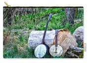 Banjos At The Woodpile Carry-all Pouch