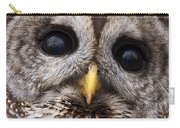 Barred Owl Eye's Carry-all Pouch