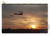 Battle Of Britain Memorial Sunset Carry-all Pouch
