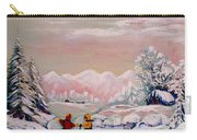 Beautiful Winter Fairytale Carry-all Pouch