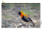Black Bishop Weaver  Carry-all Pouch