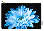Blue Chrysanthemum Carry-all Pouch
