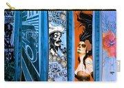 Bluesy Skateboard Art Carry-all Pouch