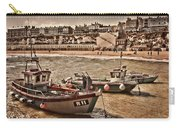 Boats At Broadstairs Carry-all Pouch