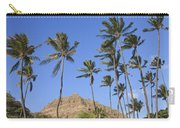 Tip Of Diamond Head Carry-all Pouch