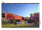 Bridgeton Covered Bridge 2 Carry-all Pouch by Marty Koch