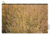Brown Grass Texture Carry-all Pouch