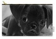 Brussel Griffon Puppy Painting Carry-all Pouch
