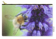 Bumblebee On Buddleja Carry-all Pouch