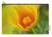 California Poppy In Autumn  Carry-all Pouch