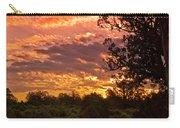 Canyon Dechelly Sunset In Copper And Gold Carry-all Pouch