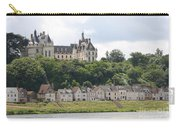 Chateau De Chaumont Stands Above The River Loire Carry-all Pouch