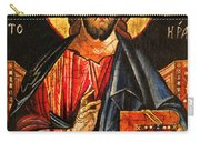 Christ The Pantocrator Icon II Carry-all Pouch