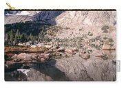 Cirque Of The Towers In Lonesome Lake   Carry-all Pouch