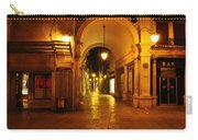 Clock Tower Venice Italy And The Path To Merceria Carry-all Pouch