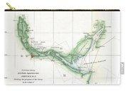 Coast Survey Chart Or Map Of The Savannah River Ans Savannah Georgia Carry-all Pouch