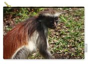 Colobus Monkey Carry-all Pouch by Aidan Moran