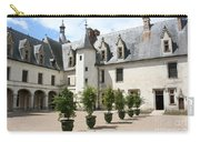 Courtyard Chateau Chaumont Carry-all Pouch