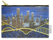 Crescent Over Pittsburgh  Carry-all Pouch