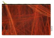 Dancing Flames 1 V - Panorama - Abstract - Fractal Art Carry-all Pouch