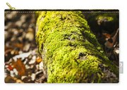 Dead Log With Moss Carry-all Pouch
