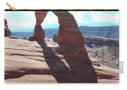 Delicate Arch And Shadow Carry-all Pouch